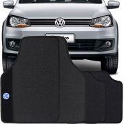 Jogo Tapete Pvc Universal Impermeável Volkswagen Saveiro Cabine Dupla
