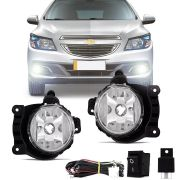 Kit Farol de Milha Completo Chevrolet Onix 2012 13 14 15 16 Prisma 2013 14 15 Cobalt 2012 13 14 15 Sonic 2014 15 Agile 2014 15