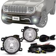 Kit Farol de Milha Completo Jeep Renegade 2019 20