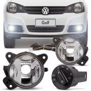 Kit Farol de Milha Completo Volkswagen Golf 2008 09 10 11 12