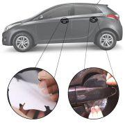 Kit Protetor de Maçaneta Película Adesivo Incolor Original Hyundai Hb20 2012 13 14 15 16 17 18 19  4 Peças Protege contra Riscos de Unhas