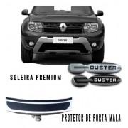 Kit Soleira Premium Protetor De Porta Mala Renault Duster