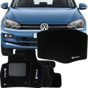 Kit Tapete Carpete Completo 6 Unidades Volkswagen Polo 2018 Em Diante