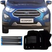 Kit Tapete Carpete e Soleira Resinada Ford EcoSport 2018 Em Diante