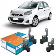 Kit Trava Elétrica Tragial Nissan March 4 Portas