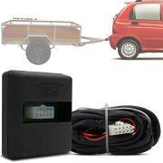 Módulo Automotivo para Iluminação de Engate Reboque Plug And Play Chery Qq 2015 16 17 Fácil Instalação Connect 1AI