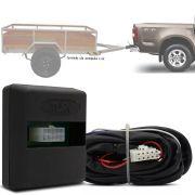 Módulo Automotivo para Iluminação de Engate Reboque Plug And Play Chevrolet S-10 2012 13 14 15 16 17 18 19 Fácil Instalação Connect 2AM