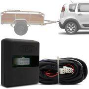 Módulo Automotivo para Iluminação de Engate Reboque Plug And Play Citroen Aircross 2010 11 12 13 14 15 16 17 Fácil Instalação Connect 1CG