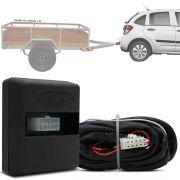 Módulo Automotivo para Iluminação de Engate Reboque Plug And Play Citroen C3 2013 14 15 16 17 18 19 Fácil Instalação Connect 1AU