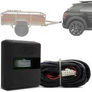 Módulo Automotivo para Iluminação de Engate Reboque Plug And Play Citroen C4 Cactus 2018 19 20 21 Fácil Instalação Connect 1AV