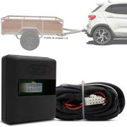 Módulo Automotivo para Iluminação de Engate Reboque Plug And Play Fiat Argo 2018 19 Fácil Instalação Connect 1Z