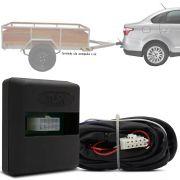 Módulo Automotivo para Iluminação de Engate Reboque Plug And Play Fiat Grand Siena 2013 14 15 16 17 Fácil Instalação Connect 1K