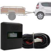 Módulo Automotivo para Iluminação de Engate Reboque Plug And Play Fiat Mobi 2016 17 18 19 Fácil Instalação Connect 1L