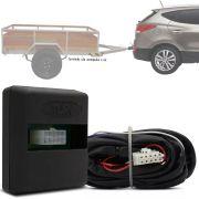 Módulo Automotivo para Iluminação de Engate Reboque Plug And Play Hyundai Ix35 2010 11 12 13 14 15 16 17 Fácil Instalação Connect 1AG