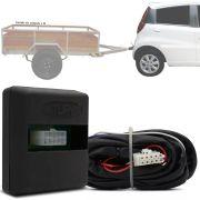 Módulo Automotivo para Iluminação de Engate Reboque Plug And Play Jac J2 2011 12 13 14 15 16 Fácil Instalação Connect 1AQ