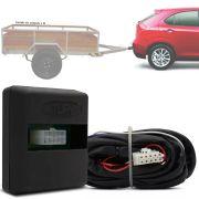 Módulo Automotivo para Iluminação de Engate Reboque Plug And Play Jac J3 2010 11 12 13 14 15 16 17 18 Fácil Instalação Connect 1AP
