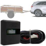 Módulo Automotivo para Iluminação de Engate Reboque Plug And Play Kia Sorento 2016 17 18 19 Fácil Instalação Connect 1BK