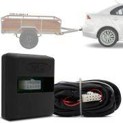 Módulo Automotivo para Iluminação de Engate Reboque Plug And Play Mitsubishi Lancer 2011 12 13 14 15 16 17 Fácil Instalação Connect 1T