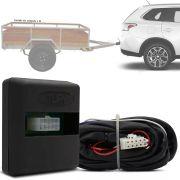 Módulo Automotivo para Iluminação de Engate Reboque Plug And Play Mitsubishi Outlander 2014 15 16 17 Fácil Instalação Connect 1AN