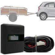 Módulo Automotivo para Iluminação de Engate Reboque Plug And Play Nissan March 2015 16 17 18 19 Fácil Instalação Connect 1B