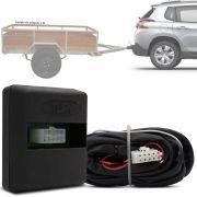 Módulo Automotivo para Iluminação de Engate Reboque Plug And Play Peugeot 2008 2015 16 17 18 Fácil Instalação Connect 1M