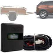 Módulo Automotivo para Iluminação de Engate Reboque Plug And Play Peugeot 3008 2017 18 19 Fácil Instalação Connect 1BO