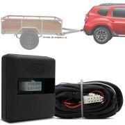 Módulo Automotivo para Iluminação de Engate Reboque Plug And Play Renault Duster 2011 12 13 14 Fácil Instalação Connect 1J