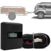 Módulo Automotivo para Iluminação de Engate Reboque Plug And Play Renault Duster 2015 16 17 18 19 Fácil Instalação Connect 1BI