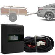Módulo Automotivo para Iluminação de Engate Reboque Plug And Play Toyota Camry 2018 19 Fácil Instalação Connect 1CC