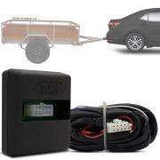 Módulo Automotivo para Iluminação de Engate Reboque Plug And Play Toyota Corolla 2015 16 17 18 19 20 Fácil Instalação Connect 1CC