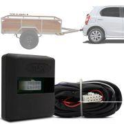 Módulo Automotivo para Iluminação de Engate Reboque Plug And Play Toyota Etios 2012 13 14 15 16 17 18 19 Fácil Instalação Connect 1U