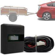 Módulo Automotivo para Iluminação de Engate Reboque Plug And Play Toyota Prius 2016 17 8 19 Fácil Instalação Connect 1CC
