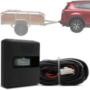 Módulo Automotivo para Iluminação de Engate Reboque Plug And Play Toyota Rav4 2017 18 19 Fácil Instalação Connect 1CC