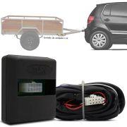 Módulo Automotivo para Iluminação de Engate Reboque Plug And Play Volkswagen Fox 2015 16 17 18 19 Fácil Instalação Connect 1AY