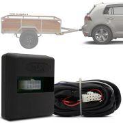 Módulo Automotivo para Iluminação de Engate Reboque Plug And Play Volkswagen Golf 2014 15 16 17 18 Fácil Instalação Connect 1BF