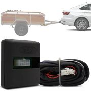 Módulo Automotivo para Iluminação de Engate Reboque Plug And Play Volkswagen Jetta 2015 16 17 18 19 Fácil Instalação Connect 1BD