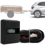Módulo Automotivo para Iluminação de Engate Reboque Plug And Play Volkswagen Polo 2018 19 Fácil Instalação Connect 1BC