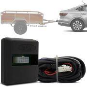 Módulo Automotivo para Iluminação de Engate Reboque Plug And Play Volkswagen Virtus 2018 19 Fácil Instalação Connect 1BB
