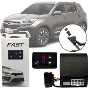 Módulo de Aceleração Sprint Booster Tury Plug and Play Chery Tiggo 5x 2018 19 20 FAST 1.0 B