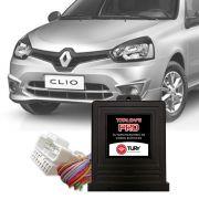 Módulo de Vidro Antiesmagamento Renault Clio Symbol 4 Vidros Elétricos - Botão no Console PRO 4.25 EP