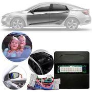 Módulo de Vidro com Rebatimento Retrovisor e Teto Solar Honda Civic 2017 18 19 PARK 6 BJ