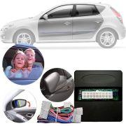 Módulo de Vidro com Sistema Tiltdown e Rebatimento Retrovisor Elétrico Hyundai I30 Até 2012 Com Auto Up Down nas 4 Portas Função Antiesmagamento PARK 5.2.4 AM