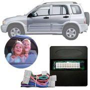 Módulo de Vidro Elétrico Chevrolet Tracker 2001 02 03 04 05 06 07 08 09  Função Antiesmagamento PRO 4.40