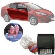 Módulo de Vidro Elétrico Ford New Fiesta Sedan Powershift 2014 15 16 17 18 19 Função Antiesmagamento LVX 5 CH