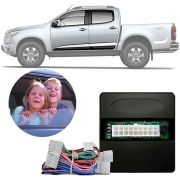 Módulo de Vidro Elétrico Função Antiesmagamento Chevrolet S10 S-10 2012 13 14 15 16 Trailblazer - Diesel Com My Link PRO 4.22 AS