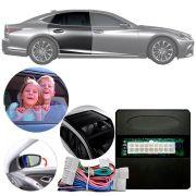 Módulo de Vidro Retrovisor e Teto Solar Elétrico Lexus Série UX 2018 Em Diante Com vidros elétricos automáticos nas 4 portas Função Antiesmagamento PARK 6.9.7 DK