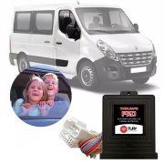 Módulo de Vidro Elétrico Renault Master 2014 15 16 17 18 Função Antiesmagamento PRO 2.12 CK