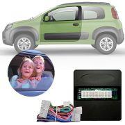 Módulo de Vidro Elétrico Sensorizado Fiat Fiorino Uno 2011 12 13 14 15 16 17 18 19 Com Vidros Elétricos nas Portas Dianteiras LVX 10.2 BQ