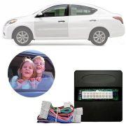 Módulo de Vidro Elétrico Sensorizado Nissan March Versa 2011 12 13 14 15 16 17 18 Com Vidros Elétricos nas Portas Dianteiras LVX 8 BB