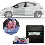 Módulo de Vidro Elétrico Sensorizado Peugeot 208 Active 2013 14 15 16 17 18 Com Subida e Descida Automatizada na Porta Motorista LVX 8 BL